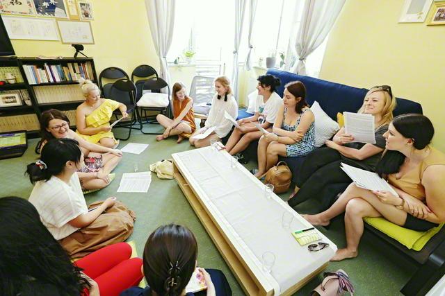ポーランド南部の古都クラクフで行われた女子部の友の集い(昨年6月)