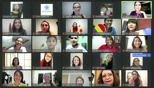 メキシコ女子部のオンラインの大会