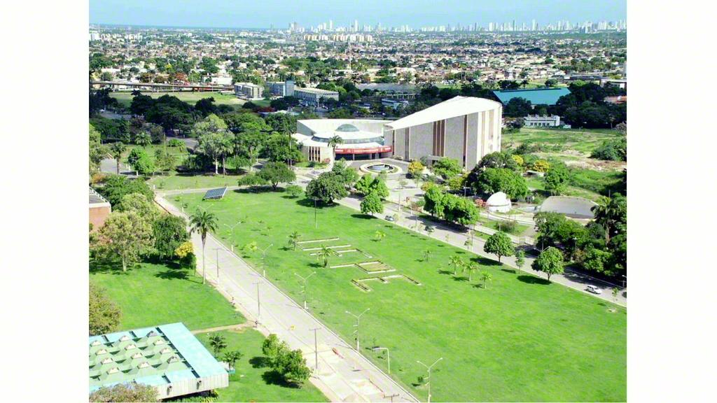 ペルナンブコ州の州都レシフェに立つペルナンブコ連邦大学のキャンパス