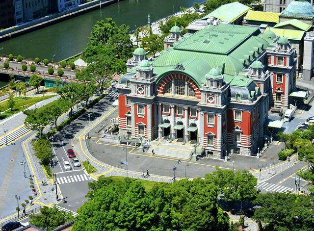「大阪大会」が開催された中之島の大阪市中央公会堂