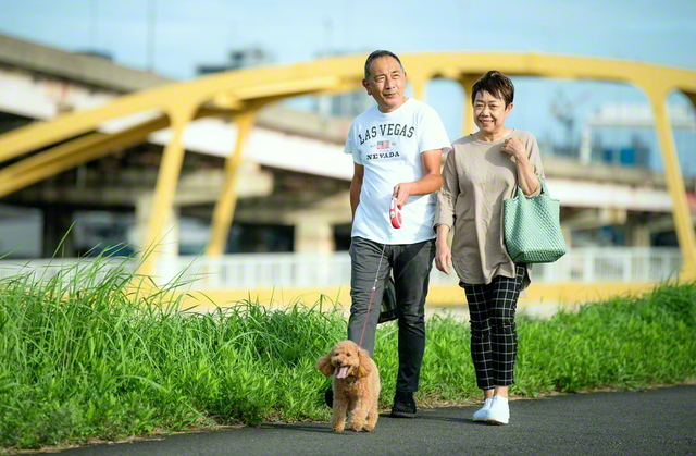 日差しの和らいだ夕方、愛犬の散歩に出掛けるのが日課