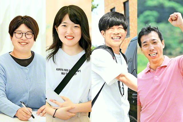 左から山本さん、森崎さん、竹内さん、岡﨑さん