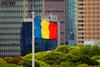 総本部の三色旗